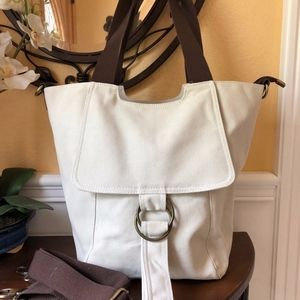 NWT! High Quality Modern Canvas Tote